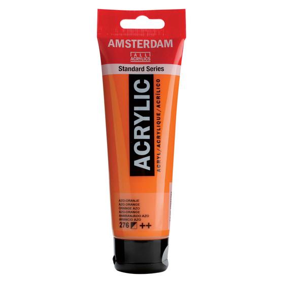 Amsterdam Acrylic 120ml Tube Azo Orange