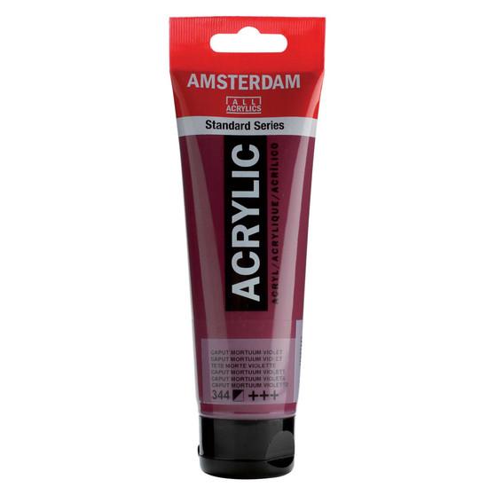 Amsterdam Acrylic 120ml Tube Caput Mortuum Violet