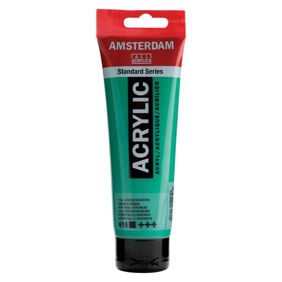 Amsterdam Acrylic 120ml Tube Emerald Green