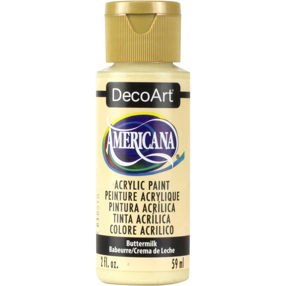 DecoArt Americana Acrylic 2oz Buttermilk