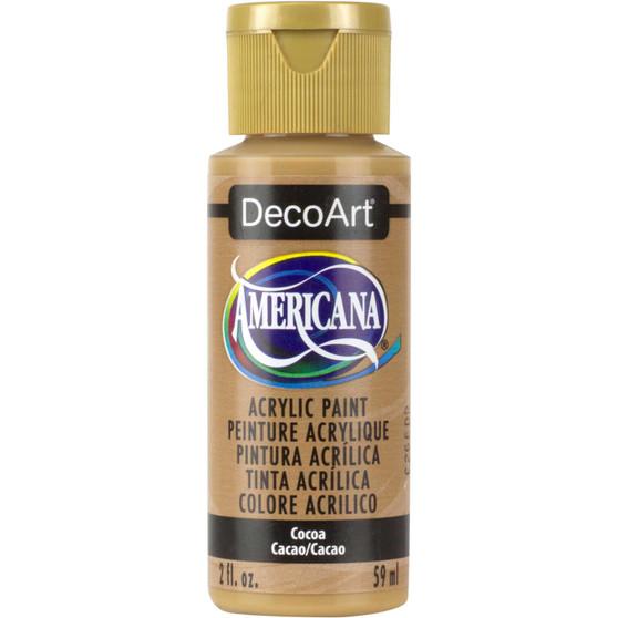 DecoArt Americana Acrylic 2oz Cocoa