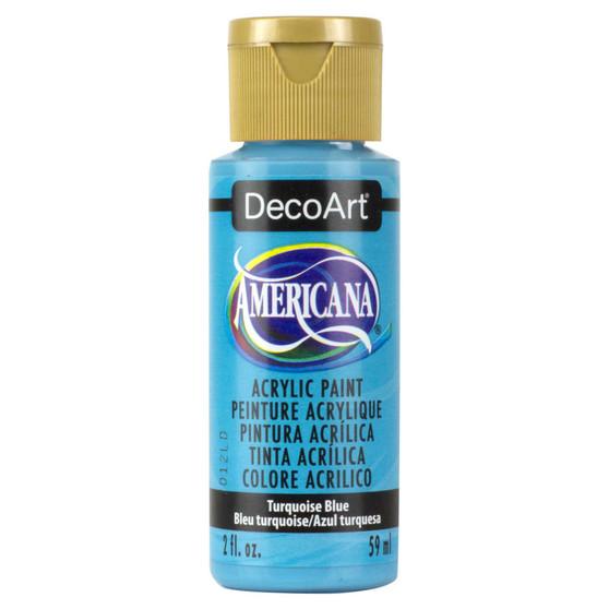 DecoArt Americana Acrylic 2oz Turquoise Blue