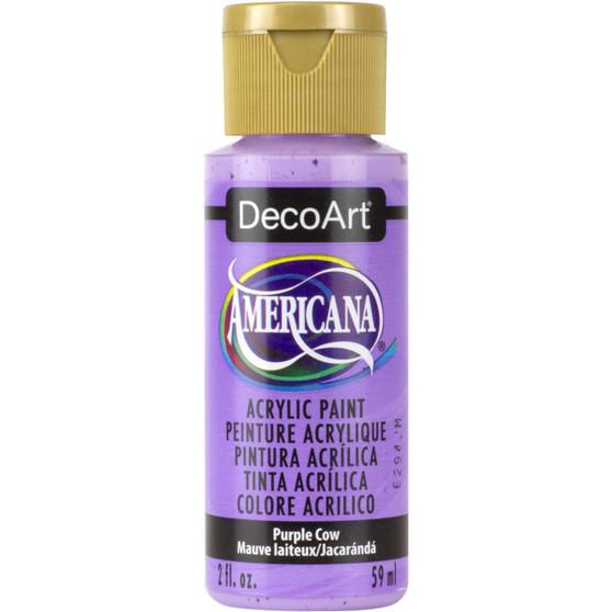 DecoArt Americana Acrylic 2oz Purple Cow