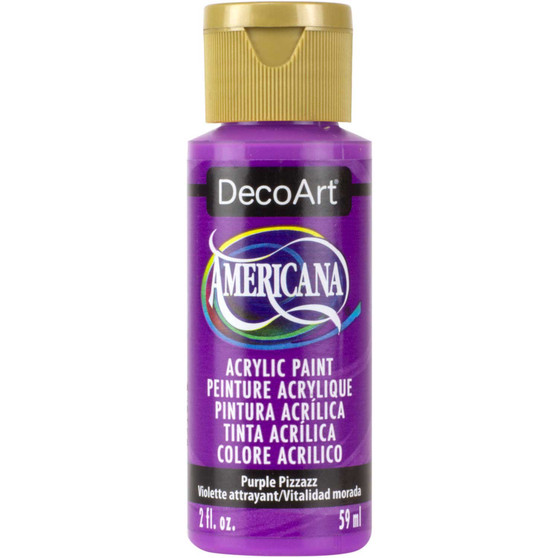 DecoArt Americana Acrylic 2oz Purple Pizzazz