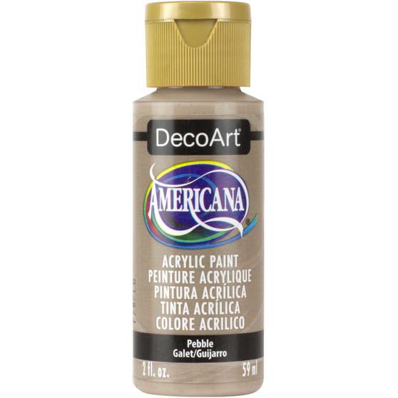 DecoArt Americana Acrylic 2oz Pebble