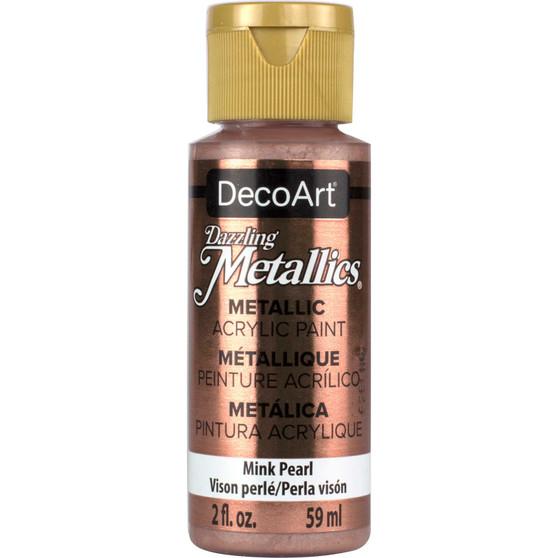 DecoArt Americana Acrylic 2oz Metallic Mink Pearl