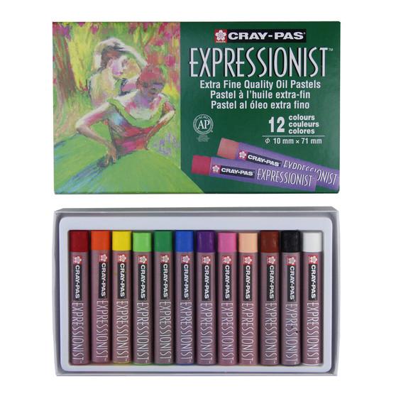 Sakura Cray-Pas Expressionist Oil Pastels Set of 12