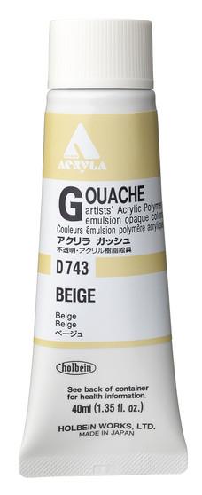 Holbein Acryla Gouache 40ml Beige