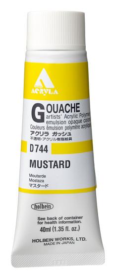 Holbein Acryla Gouache 40ml Mustard