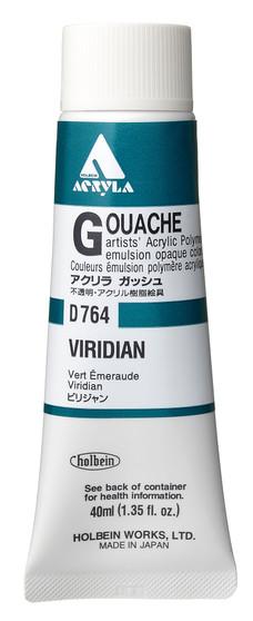Holbein Acryla Gouache 40ml Viridian