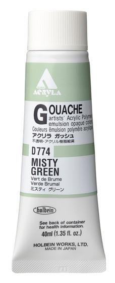 Holbein Acryla Gouache 40ml Misty Green