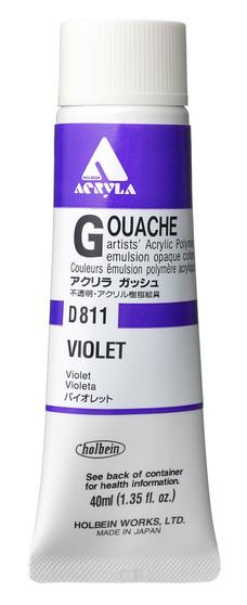Holbein Acryla Gouache 40ml Violet