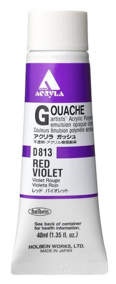 Holbein Acryla Gouache 40ml Red Violet