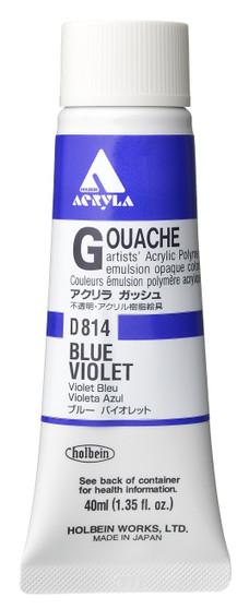 Holbein Acryla Gouache 40ml Blue Violet