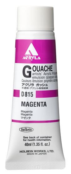 Holbein Acryla Gouache 40ml Magenta
