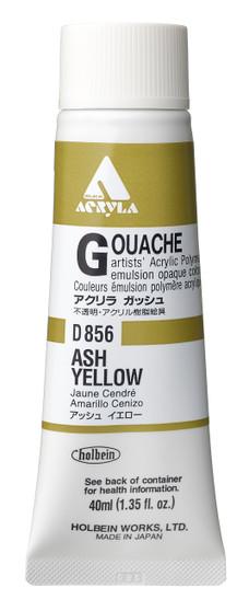 Holbein Acryla Gouache 40ml Ash Yellow