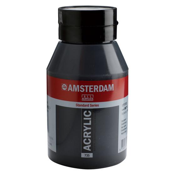 Amsterdam Acrylic 1000ml Jar Oxide Black