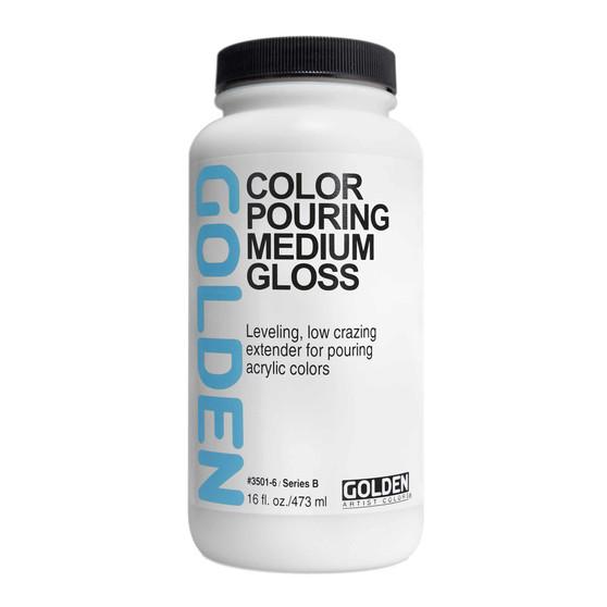 Golden Acrylic Color Pouring Medium Gloss 16oz