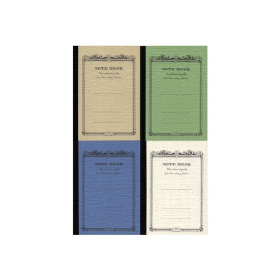 """Apica Scroll Notebook """"CD"""" Mini 4x2.75"""" Assorted Cool Colors"""