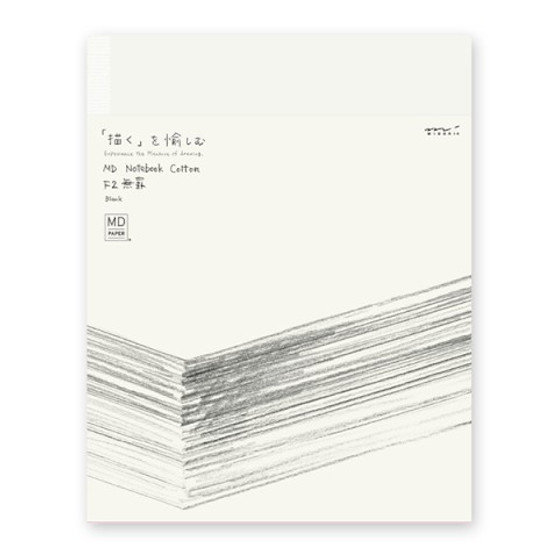 Midori MD Cotton Blank Notebook F2 Soft Cover