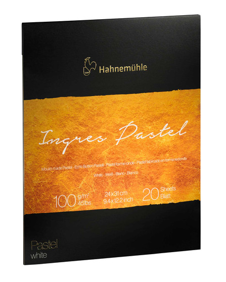 """Hahnemuhle The Collection Series Ingres Pastel Pad White 9.5x12"""""""