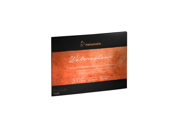 Hahnemuhle The Collection Series Watercolor Block 9.45x12.6in Rough 140lb (300gsm)