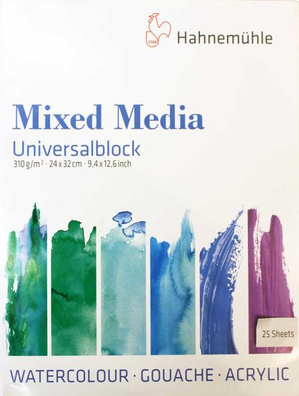 "Hahnmemuhle Mixed Media Block 9.5x12.5"""