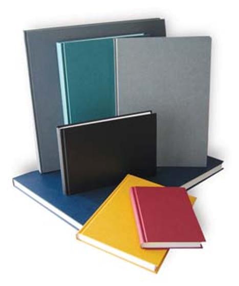 Kunst & Papier Hardbound (Efalin) Sketchbook 8.25x5.8 Red Landscape