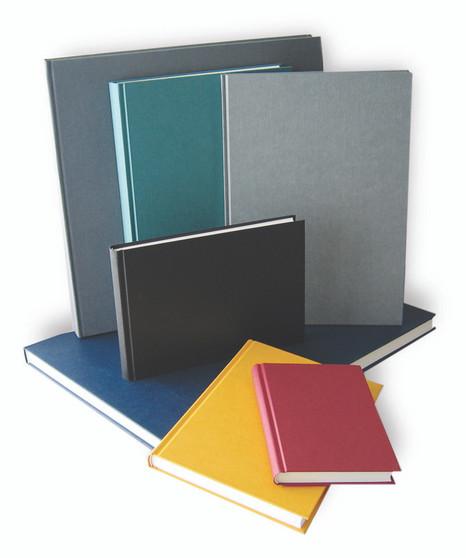 """Kunst & Papier Hardbound (Efalin) Sketchbook 4.25x5.75"""""""" Blue"""