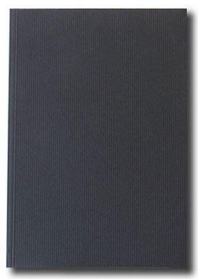 Kunst & Papier Jumbo Soft Cover 8.3x11.7 Black