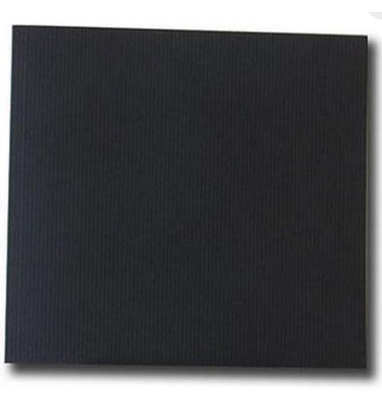 Kunst & Papier Jumbo Soft Cover 8.3x7.9 Black - Landscape