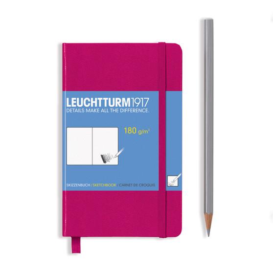 Leuchtturm 1917 Hardbound Sketchbook Pocket Size Berry