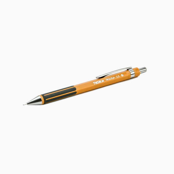 TWSBI Jr. Pagoda Mechanical Pencil Marmalade .7mm