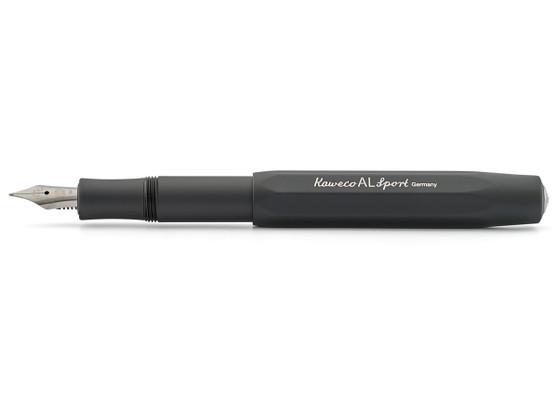 Kaweco AL Sport Fountain Pen Black Fine Nib