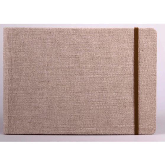 Clairefontaine Goldline Travel Album Landscape Natural Sheets Size 5 5/6 x 8 1/4 (A5)