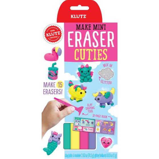 Klutz Make Mini Eraser Kit Cuties