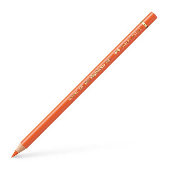 Faber-Castell Polychromos Colored Pencil Orange Glaze
