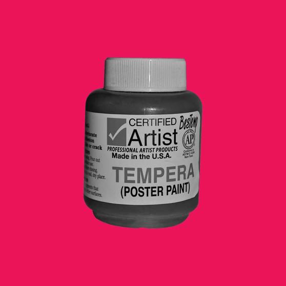 Bestemp Tempera Paint 2oz Magenta