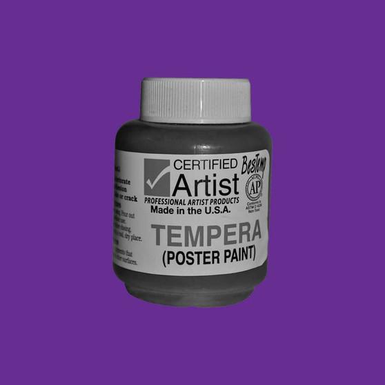 Bestemp Tempera Paint 2oz Violet