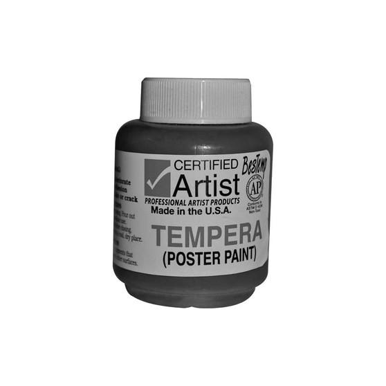 Bestemp Tempera Paint 2oz White
