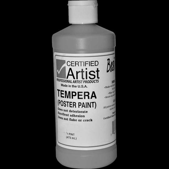 Bestemp Tempera Paint 16oz Black