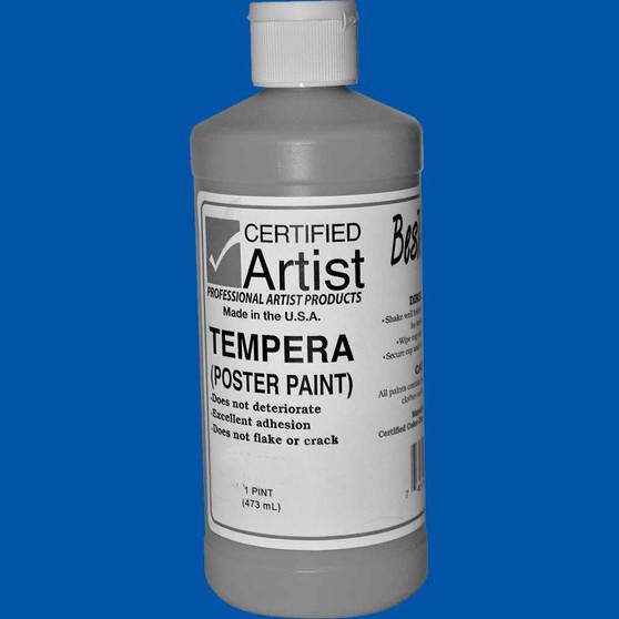 Bestemp Tempera Paint 16oz Blue