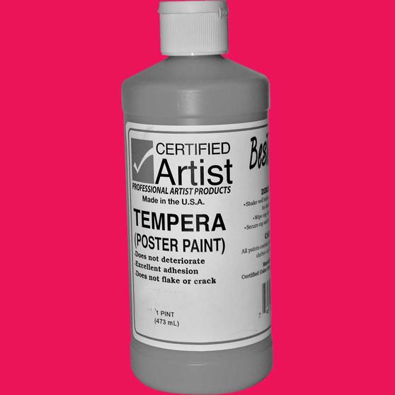Bestemp Tempera Paint 16oz Magenta