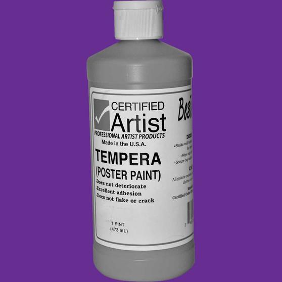 Bestemp Tempera Paint 16oz Violet