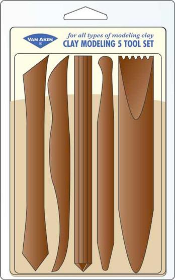 Van Aken Claytoon 5 Clay Tool Set