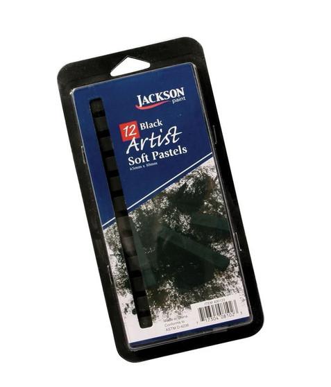 Jackson 12 Stick Set of Black Char-Kole