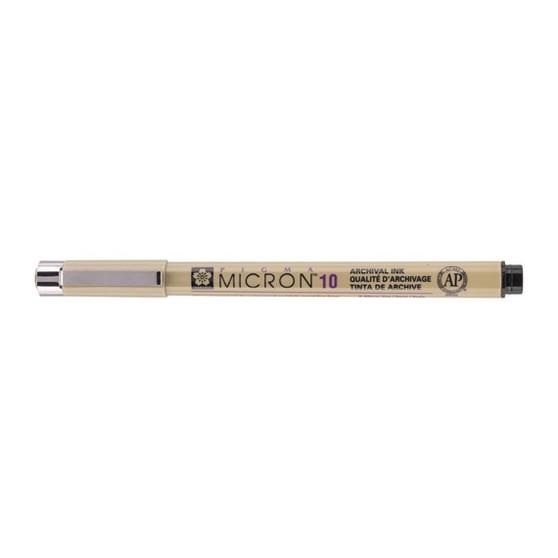 Sakura Pigma Micron Pen 10 Black