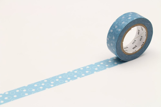 MT Washi Tape Snow Yukiwa Blue
