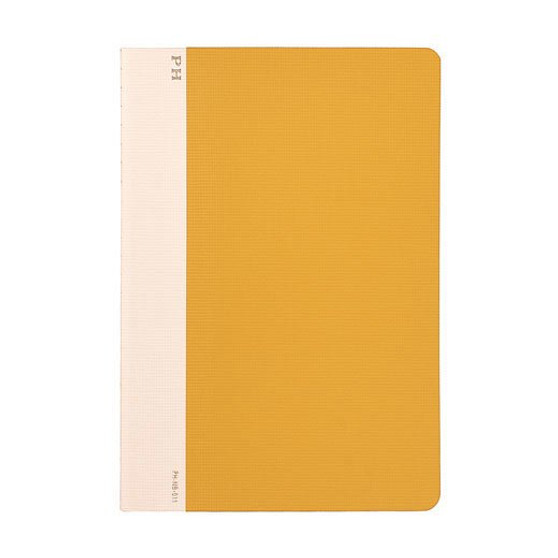 Hightide Stationery Cheesecloth Ruled Notebook B6 Yellow