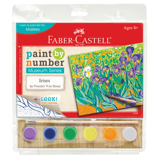 Faber-Castell Paint by Number Museum Series Irises by Vincent Van Gogh